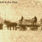 Spedition F.A. Kruse jun. Pferdefuhrwerk