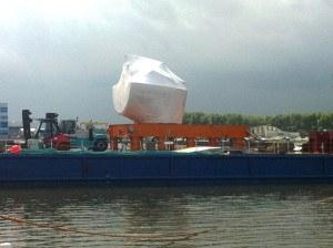 Produktschutz bei Schiffstransport