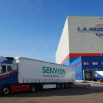 Spedition F.A. Kruse Senvion-LKW