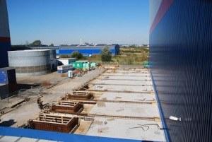 Grundfläche neue Blocklagerhalle