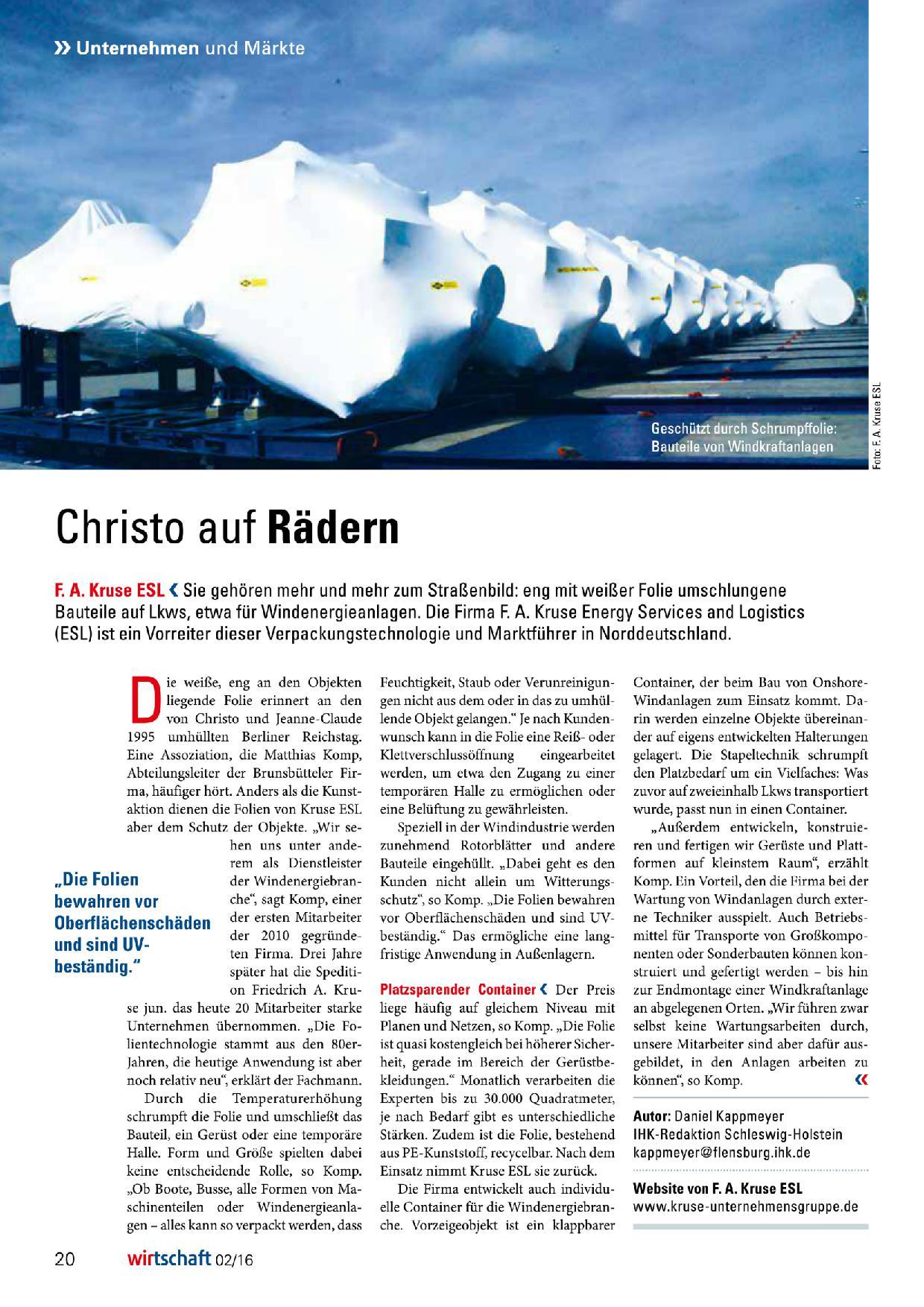 Artikel Schutzfolie Windkraftanlagen